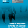 Time to blow the whistle on alcohol sports sponsorship